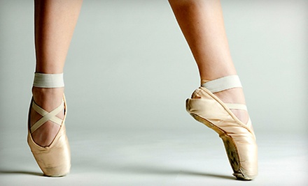 $8 for 6:30pm Ballet A (ages 6-10) at The School of Ballet Arts