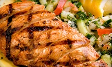 $3 for $6 at Cafe Kabob Mediterranean Grille Southfield