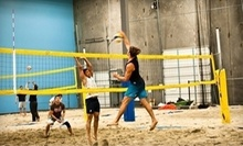 $11 for Drop-In Beach Volleyball at 6Pack Indoor Beach Centre