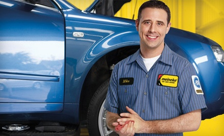 $90 for Brake Pads and Machine Rotors Installation at Meineke Car Care Center Raleigh