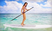 $13 for a One-Hour Paddle Board Rental at Whaz SUP!