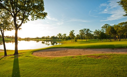 $50 for 18 Holes of Golf, Cart, Bucket of Balls & Cold Lunch for Two at Twin Lakes Golf Course Canton