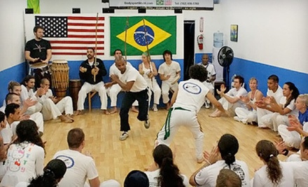 $10 for 6:30pm Intro to Capoeira Class at Capoeira Batuque