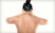 $20 for a 30-Minute Aqua Massage  at Experience Chiropractic