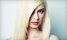 $63 for a Single Process Color with Cut at Celebrity Beauti' Den