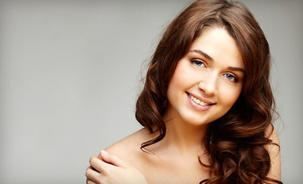 $90 for a Haircut, Single-Process Color, and Keraste Treatment  at Salon Lotus