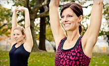$8 for a Drop In Evening Floga Glow Class at 7 p.m. at Floga Fitness Classes