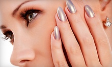 $30 for an Exclusive Pink and White Gel Only Nail Set at Today's Nails Image