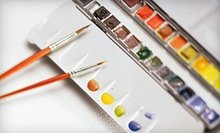 $20 for Adult Watercolors Class at Haven Art