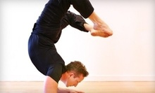 $10 for a One-Hour Power Yoga Drop-In Class at 12 p.m. at The Pad Studios