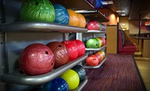 $9 for Two Games of Bowling, Shoe Rental and an Arcade Card for One at Sunset Lanes