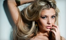 $14 for a Haircut and Style (Up to  $29 Value) at Shear Madness Fenton