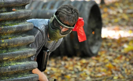 $25 for Admission, Gear Rental, and 500 Paintballs for Two at AG Paintball
