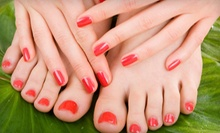$35 for a Manicure with a Paraffin Dip &amp; Deluxe Spa Pedicure at Orchid Salon and Spa