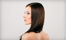 $35 for a Haircut, Style & Gloss Treatment at Bill's Scissorhands Salon
