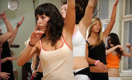 $5 for a 9:30 a.m. Bal'Yoga Class at Abernethy Performing Arts