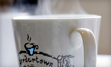 $3 for $5 at Bordertown Coffee