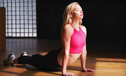 $10 for a 10 a.m. Vinyasa Yoga Class at 99 Sudbury