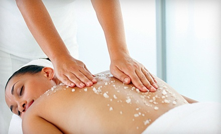 $40 for a One-Hour Mineral Salt Glow Back Treatment at Tea Spa - DC