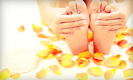 $39 for a Deluxe Mani & Pedi at Lavender's Beauty Spa