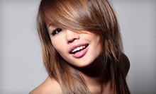 $55 for a Haircut and Partial Highlights at Vintage13 Salon