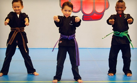 $5 for a 9 a.m. Little Champs Class at Champions Martial Arts and Kickboxing Academy