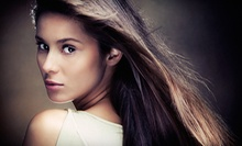 $45 for a Shampoo, Haircut, Blow Dry and Deep Conditioning Treatment at D'Galina's Center