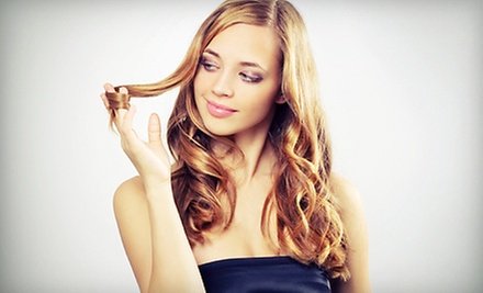 $77 for a Partial Foil or Color Retouch and Haircut at Salon La Diva