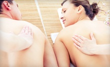 $149 for Couples Massage, Body Scrub, Paraffin Hand Treatment, &amp; Meal at A Day of Delight Spa
