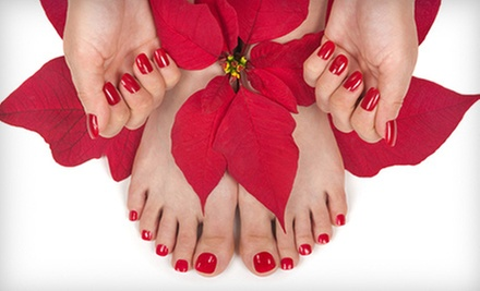 $15 for a Deluxe Pedicure at Angela Nails and Spa