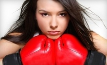 $10 for a Drop In Kickboxing Class at 7 a.m.  at Patriot Boxing and Fitness