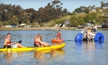 $30 for $50 Worth of Kayak, Paddle Board, Canoe & Aqua Cycle Rentals at Carlsbad Lagoon