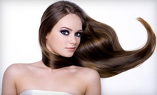 $110 for a One Process Color, Hair Cut,  and Blow Dry  at Ithica - A Debra Aldi Hair Salon
