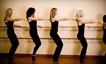$11 for 9:30am Barre Class at Barre54