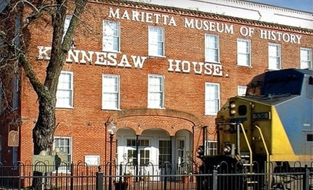 $2 for an Admission for One at Marietta Museum of History