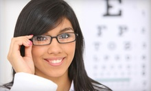 $45 for $100 Worth of Prescription Eyeglasses, and Sunglasses at Advanced Vision Care