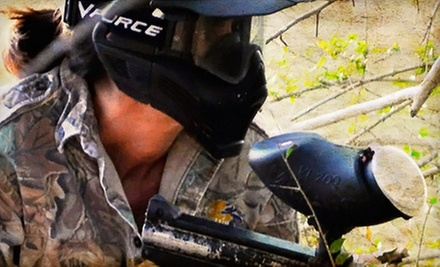 $19 for 2 Person All Day Paintball Pass, Equipment, & 200 Paintballs at Paintball Bonanza