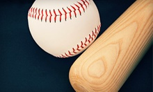 $20 for 60 Minutes of Batting-Cage Practice at The Bullpen Baseball /Softball Academy