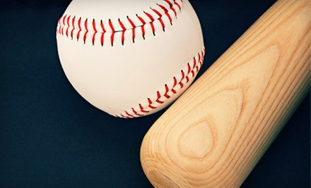 $13 for 30 Minutes of Batting-Cage Practice at The Bullpen Baseball /Softball Academy