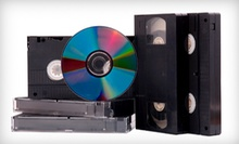 $20 for Two Home Videotapes Transferred to DVD (Up to $40 Value) at King Tapes