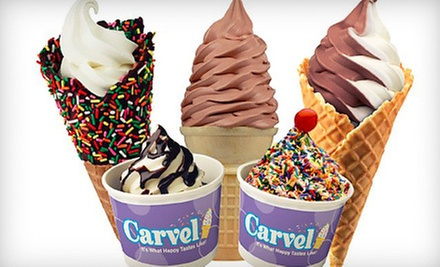 $4 for $8 at Carvel Ice Cream & Bakery
