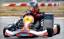 $15 for 1 Adult High-Speed Go-Kart Race at Dallas Karting Complex