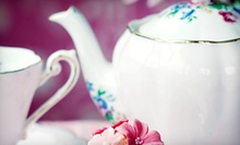 $12 for a Traditional English Tea for Two at Aggie's Closet and Tea Room
