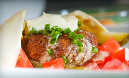 $12 for 2 Wraps, 2 Large Drinks &amp; Basket of Mediterranean Fries at Avalon Pockets