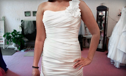 $39 for $100 Worth of Bridal Fashions  at I Do Designer Bridal Consignment