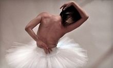 $8 for 7 PM Beginning Adult Ballet Class at One Hundred