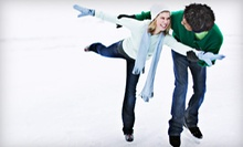 $10 for Admission and Skate Rental for Two at Rancho Palos Verde Ice Chalet