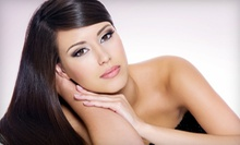 $25 for Keratin Mask Conditioning Treatment, End Trim & Blow Out at Sky Stylist Studios Salon & Spa