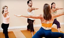 $14 for a 10 a.m. Energizing Yoga Class, Bottle of Water & Towel at 98point6 Yoga