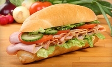 $7 for $10 at Mr. Pickle's Sandwich Shop
